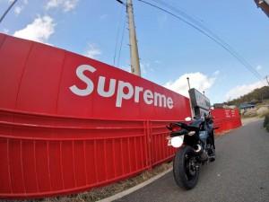 秘密の場所 バイク